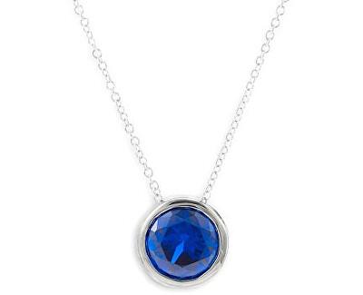 Náhrdelník Dark Blue QJPY5039LW (řetízek, přívěsek)