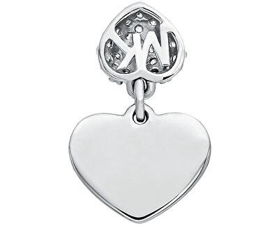 Romantický pozlacený náramek se srdíčkem MKC1118AN710