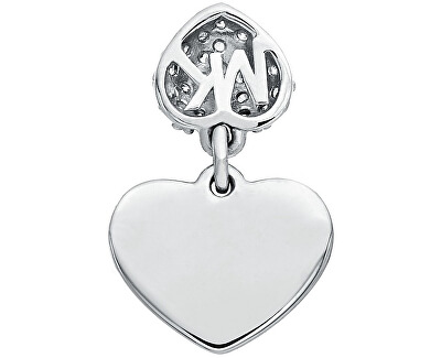 Romantický stříbrný náramek se srdíčkem MKC1118AN040