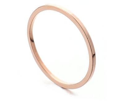Minimalistický bronzový prsten R000199