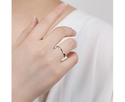 Minimalistický stříbrný prsten R0002020
