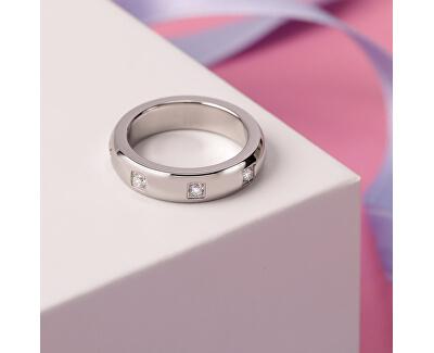 Női acél gyűrűs szerelmes gyűrűk SNA45