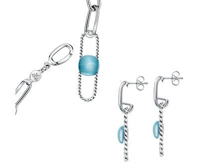 Exkluzivní zvýhodněná sada šperků 1930 SATP24 (multifunkční náhrdelník SATP15 + náušnice SATP17)