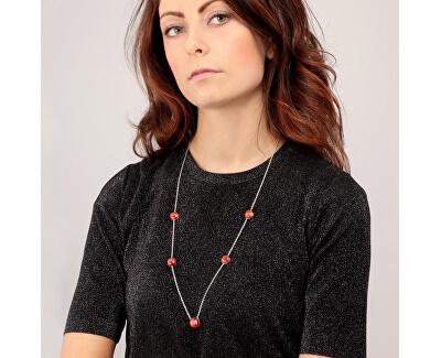Krásny náhrdelník zdobený mačacím okom Gemma SAKK107