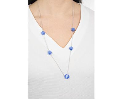 Krásny náhrdelník zdobený mačacími okami Gemma SAKK09