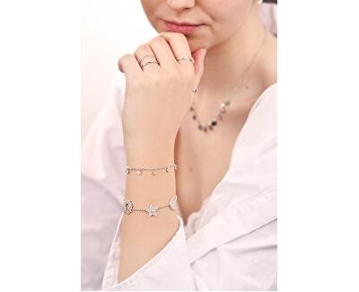 Luxusný strieborný náramok Michelle SAHP04
