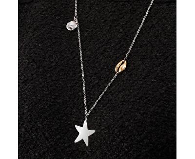 Oceľový náhrdelník Gipsy SAQG08