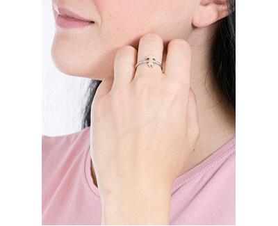 Oceľový prsteň Love Rings SNA43
