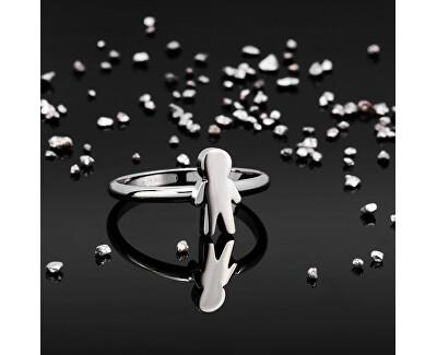 Oceľový prsteň Love Rings SNA44