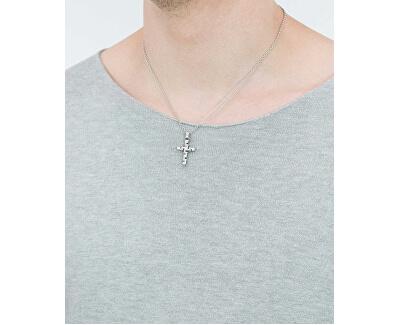 Colier pentru bărbați cu cruce Motown SAEV03