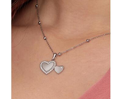 Romantikus szív nyaklánc Love SOR18
