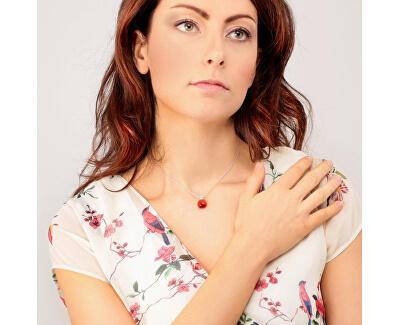 Strieborný náhrdelník Gemma SAKK108 (retiazka, prívesok)