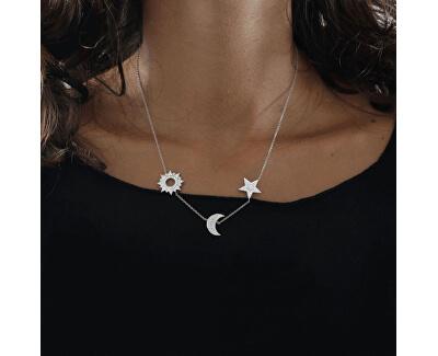Luxusný strieborný náhrdelník Michelle SAHP01