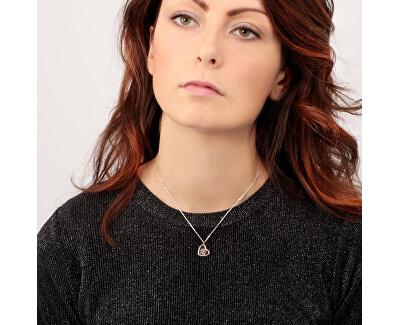 Strieborný náhrdelník s elementom Scrigno D`Amore SAMB32 (retiazka, prívesok)