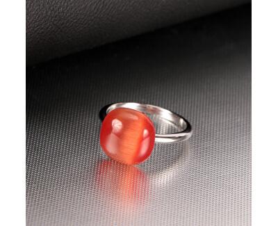 Strieborný prsteň Gemma SAKK112