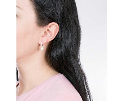 Zvýhodněná elegantní sada šperků Perla SANH03, SANH06 (náramek, náušnice)