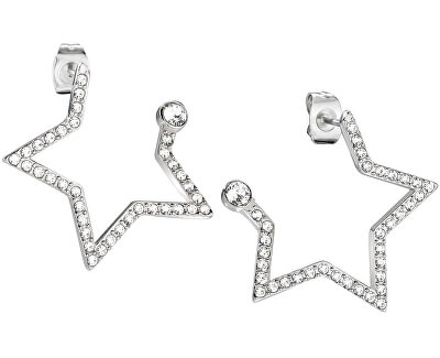 Hvězdné náušnice s krystaly Cosmo SAKI16