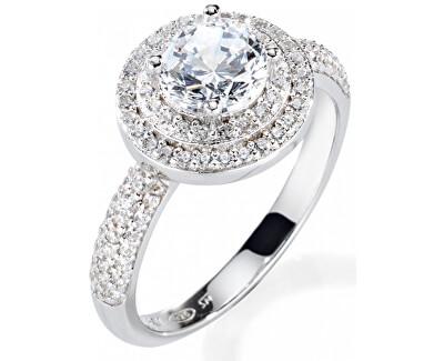Luxusný strieborný prsteň Tesoro SAIW08