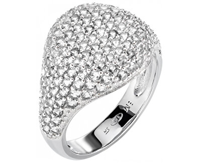 Luxusné trblietavý prsteň zo striebra Tesoro AIW65