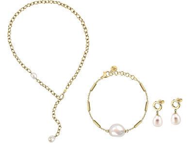 Luxusní zvýhodněná sada šperků Oriente SARI07, SARI04, SARI01 (náhrdelník, náramek, náušnice)