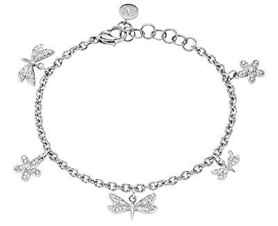 Edelstahl Armband mit Libellen Ninfa SAJA08