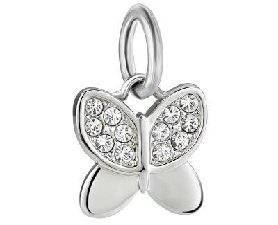 Pandantiv din oțelDrops Charms Butterfly SCZ710