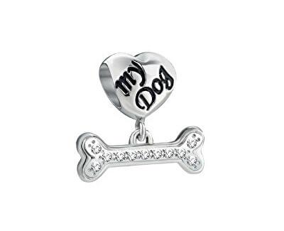 Pandantiv din oțel Drops Dog SCZ703