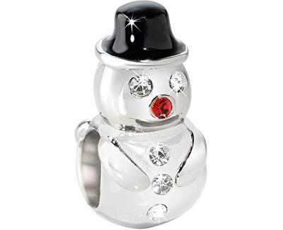 Ocelový přívěsek Drops Christmas Snowman SCZ296
