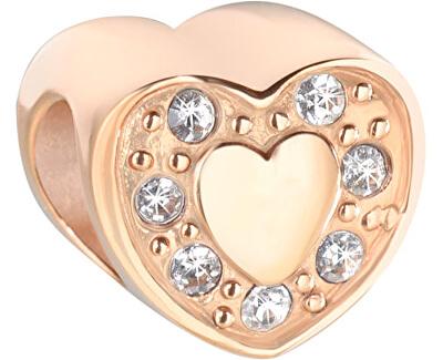 Pandantiv placat cu aurDrops Heart SCZ603