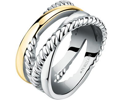 Romantický pozlacený prsten Insieme SAKM86
