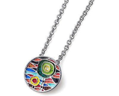 Vícebarevný náhrdelník Art Small 11875