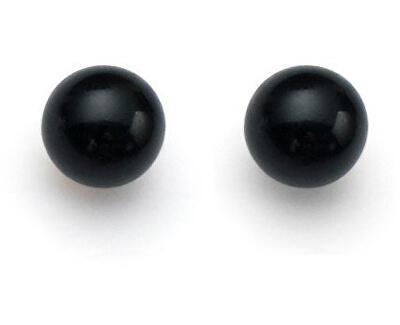 Černé náušnice Pearl Sissi 21020 335