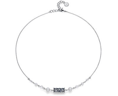 Luxusné náhrdelník s kryštálmi Tuby 11936