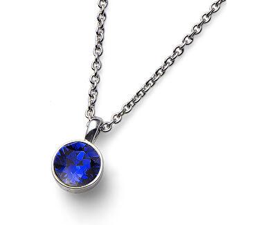 Halskette mit blauem Kristall Ocean Uno 11740 206