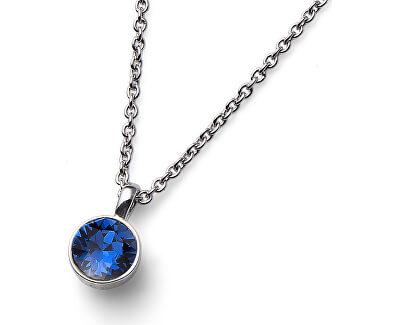 Halskette mit blauem Kristall Ocean Uno 11740 207