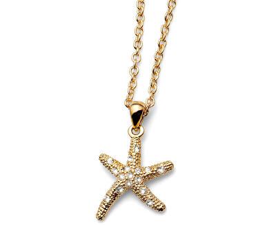 Náhrdelník Starfish Gold 11137G (řetízek, přívěsek)