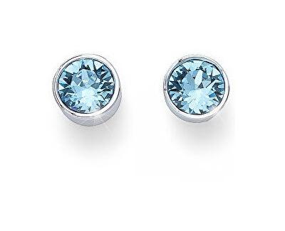 Cercei cu cristale albastru deschis Ocean Uno 22623 202