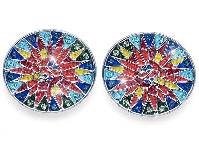 Náušnice s kryštálmi Shine Gaudi 22806