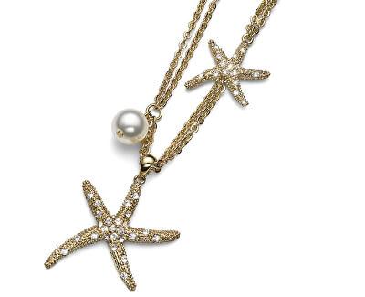 Pozlacený náhrdelník Starfish Gold 11074G