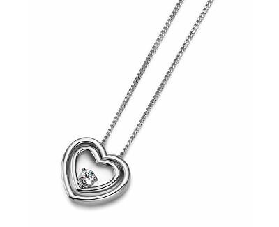 Romantický náhrdelník se srdíčkem Aloha 11318