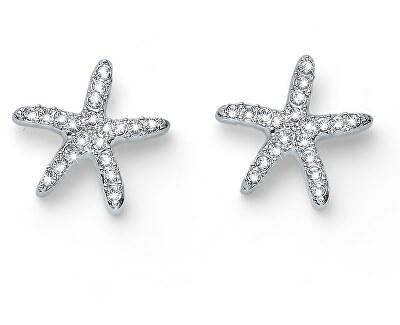 Trblietavé náušnice Starfish 22740