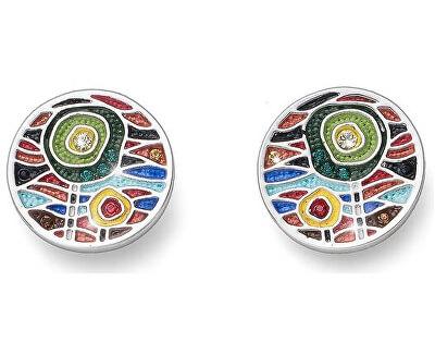 Vícebarevné náušnice Art Two 22697