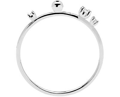 Elegantní stříbrný prsten se zirkony KAYA Silver AN02-127