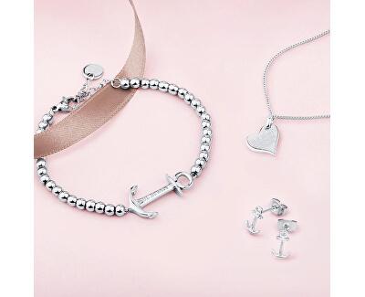 Strieborný náhrdelník so srdiečkom PH-HN-S (retiazka, prívesok)