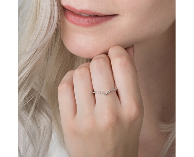 Stříbrný prsten s korálky 196315