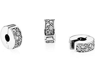 Accesoriu din argint cu cristale clare - brățară tip PANDORA 791817CZ