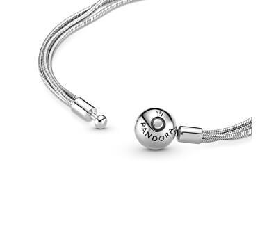 Luxusní stříbrný náramek Moments 599338C00