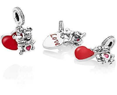 Romantický prívesok Láska Mickeyho a Minnie 797769CZR