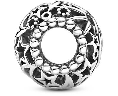 Stříbrný korálek Slunce, hvězdy a měsíc Openwork 799183C00