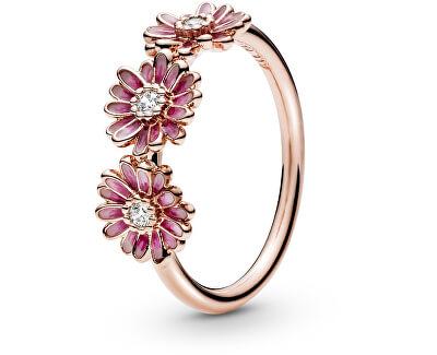 Inel din bronz Margarete roz 188792C01